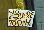 No Quest Today Cartoon Picture