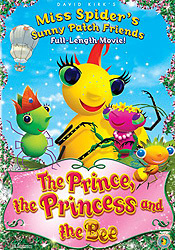 Miss Spider: The Prince, The Princess And The Bee Cartoon Character Picture