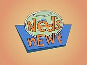 New Year's Ned Cartoon Picture