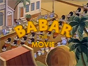 Babar: The Movie Picture To Cartoon