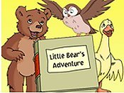 Little Bear's Bath Cartoon Picture