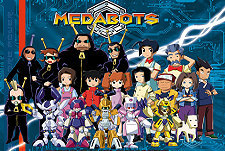 Medabots Episode Guide Logo