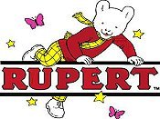 Rupert And The Giant Free Cartoon Picture
