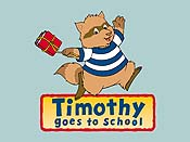 Timothy Goes To School Picture To Cartoon