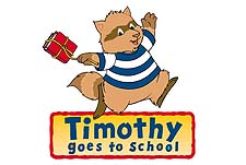 Timothy Goes to School Episode Guide Logo
