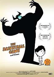 The Basketball Game Cartoon Picture
