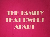 The Family That Dwelt Apart Cartoon Picture