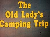 The Old Lady's Camping Trip Cartoons Picture