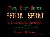 Spook Sport Cartoon Picture