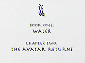 The Avatar Returns, Part 2 Picture Of The Cartoon