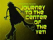 Journey To The Center Of The Yeti Free Cartoon Picture