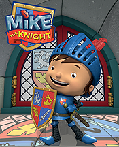Mike The Knight And The Mighty Shield Picture Of Cartoon