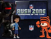 Super Bowl Goal Line Stand Cartoon Picture