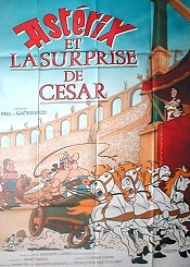 Ast�rix et la Surprise de C�sar (Asterix vs. Caesar) Picture Into Cartoon