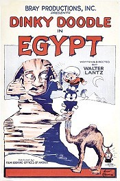 Dinky Doodle In Egypt Free Cartoon Picture