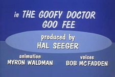 The Goofy Doctor Goo Fee Cartoon Character Picture