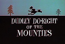 Dudley Do-Right of the Mounties Episode Guide Logo