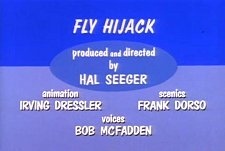 Fly Hijack Cartoon Picture
