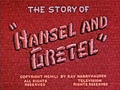 The Story Of Hansel And Gretel Cartoon Picture