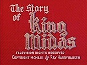 The Story Of King Midas Picture Of Cartoon