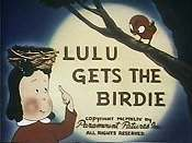 Lulu Gets The Birdie Pictures In Cartoon