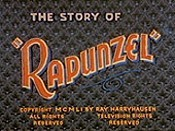 The Story Of Rapunzel Cartoon Picture