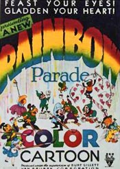 Rainbow Parade Theatrical Cartoon Series Logo