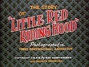The Story Of Little Red Riding Hood The Cartoon Pictures