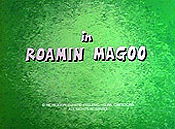 Roamin Magoo The Cartoon Pictures
