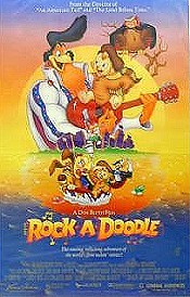 Rock-A-Doodle Picture Into Cartoon