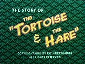 The Story Of The Tortoise & The Hare Cartoon Picture