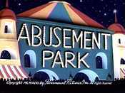 Abusement Park Cartoon Character Picture