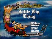 Little Big Thing Picture Of Cartoon