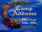 Camp Addams Free Cartoon Picture