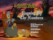 Pugsley By The Numbers Picture Of Cartoon