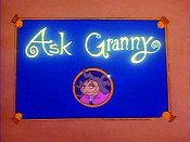 Ask Granny Free Cartoon Picture