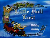Little Doll Lost Free Cartoon Picture