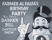 Farmer Al Falfa's Birthday Party