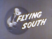 Flying South Picture Of Cartoon