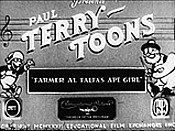 Farmer Alfalfa's Ape Girl Cartoon Picture