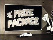 Farmer Al Falfa's Prize Package Cartoon Picture
