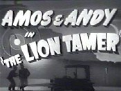 The Lion Tamer Cartoon Picture