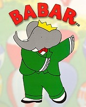Babar's First Step Pictures In Cartoon