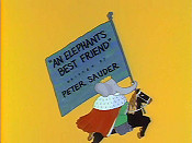 An Elephant's Best Friend Pictures In Cartoon