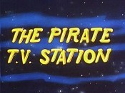 The Pirate T.V. Station Picture To Cartoon