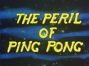 The Peril Of Ping Pong Cartoon Picture