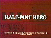 Half-Pint Hero Cartoon Character Picture