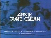 Arnie Come Clean Cartoon Picture