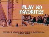 Play No Favorites Cartoon Picture