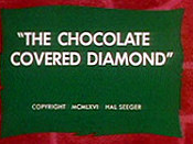 The Chocolate Covered Diamond Free Cartoon Picture